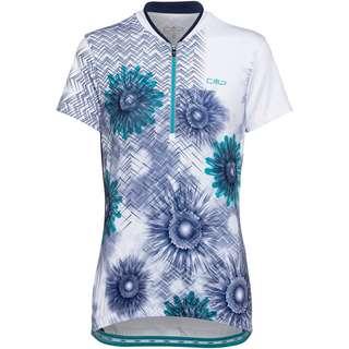 CMP Bike T-Shirt Trikot Damen B.CO-CERAMIC-BLUE