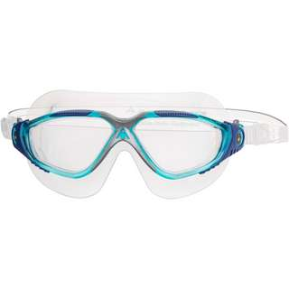 phelps Vista Schwimmbrille clear lens;aqua blue silver