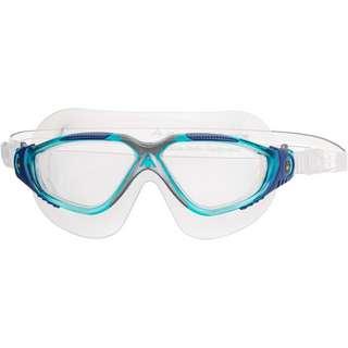 Aquasphere Vista Schwimmbrille clear lens-aqua blue silver