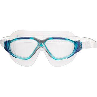 Aqua Sphere Vista Schwimmbrille clear lens;aqua blue silver