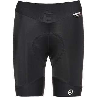 assos UMA GT Half Shorts Fahrradhose Damen black series