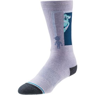 Stance Sully and Boo Sneakersocken purple