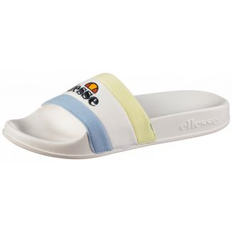 Ellesse Borgaro Badelatschen Damen white-light blue-light green