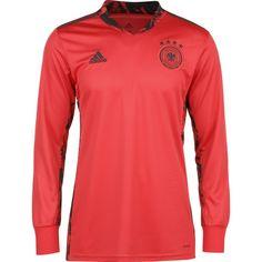 adidas DFB EM 2020 Heim Fußballtrikot Herren rot / schwarz