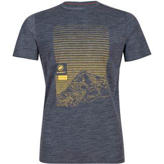 Mammut Alnasca T-Shirt Herren peacoat melange