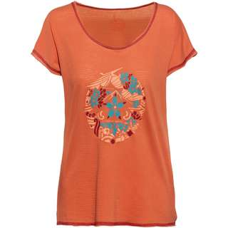 Red Chili Kendo Klettershirt Damen koi orange