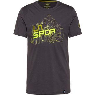 La Sportiva Cubic T-Shirt Herren carbon-kiwi