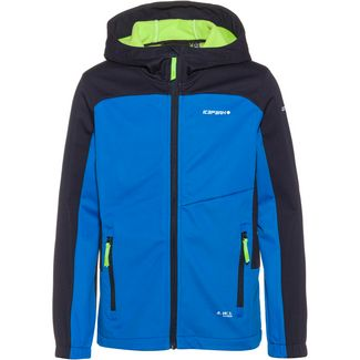ICEPEAK Laurens Jr Softshelljacke Kinder blue-black