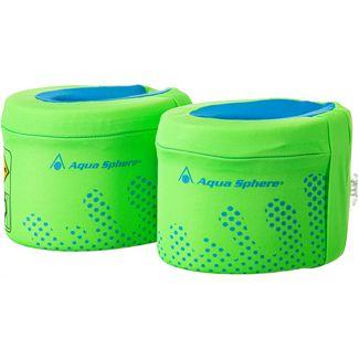 Aqua Sphere Arm Floats Schwimmflügel Kinder bright green blue