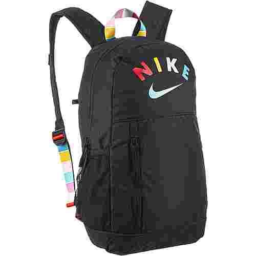 Nike Rucksack Y NK ELMNTL BKPK GFX SU20 Daypack Kinder black-black-emerald rise