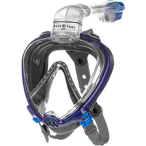 AQUA LUNG SMART SNORKEL Schnorchel navy blue grey