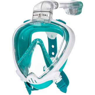 AQUA LUNG SMART SNORKEL Schnorchel white turquoise