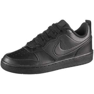 Nike Court Borough Low 2 Sneaker Kinder black-black-black
