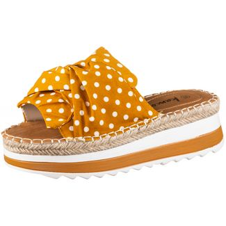 Kamoa PS DOTTY Sandalen Damen mustard