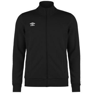 UMBRO FW Zip Track Trainingsjacke Herren schwarz / weiß