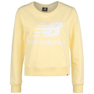 NEW BALANCE Essentials Crew Sweatshirt Damen dunkelgelb / gelb