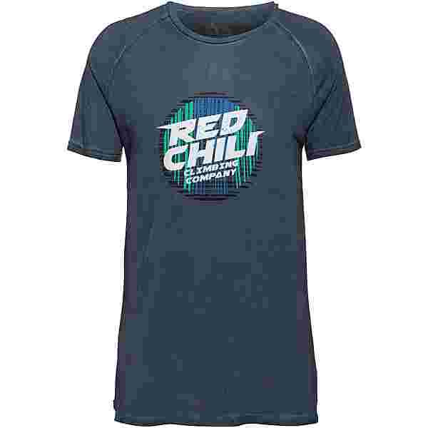 Red Chili Shodo Klettershirt Herren deep blue