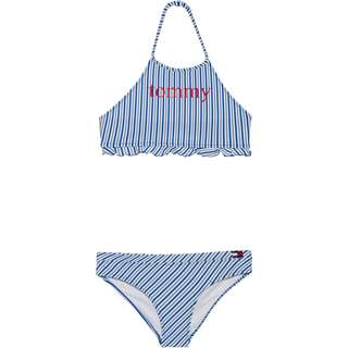 Tommy Hilfiger Bikini Set Kinder seersucker blue