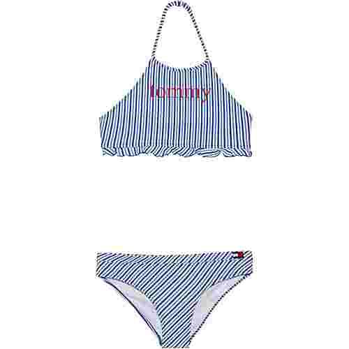 Tommy Hilfiger Bikini Set Kinder seersucker blue