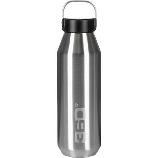 360° degrees 360° Vacuum Narrow Mouth 750 ML Isolierflasche silver