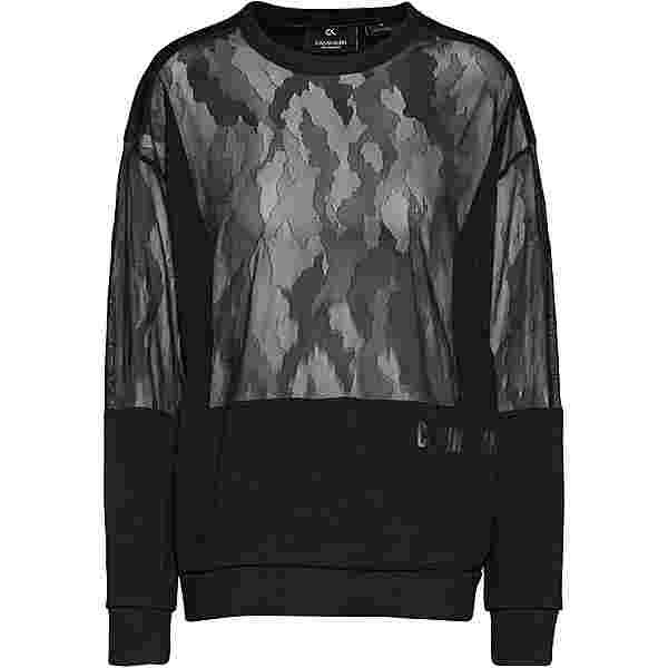 Calvin Klein Cooling X Lace Sweatshirt Damen ck black