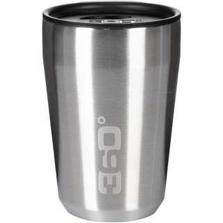 360° degrees 360° Vacuum Travel Mug Regular Trinkbecher silver