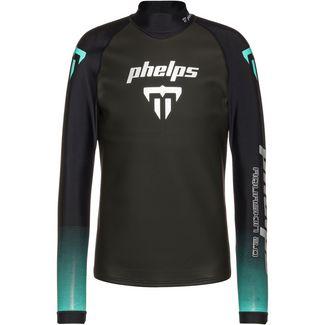 phelps AQUASKIN 2.0 TOP Neoprenshirt Herren black turquoise