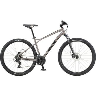 GT Aggressor Expert 650B Mountainbike MTB Hardtail silber