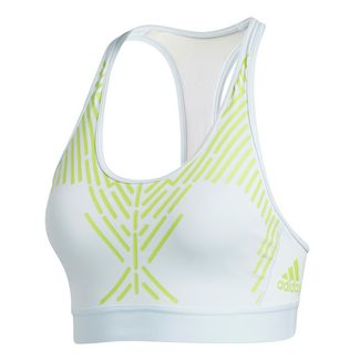 adidas Don't Rest Sport-BH Sport-BH Damen Sky Tint / Signal Green