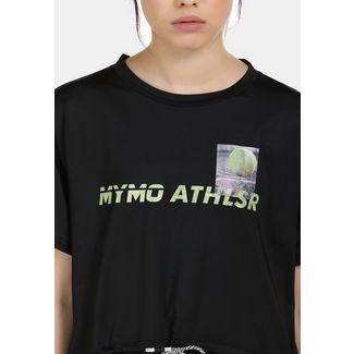 MYMO Printshirt Damen schwarz