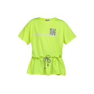 MYMO Printshirt Damen neon gelb