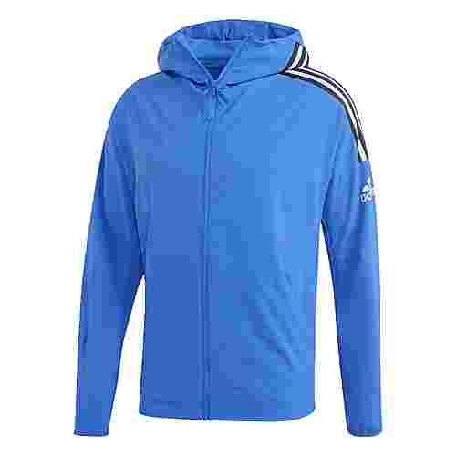 adidas adidas Z.N.E. Woven Hoodie Sweatjacke Herren Blau