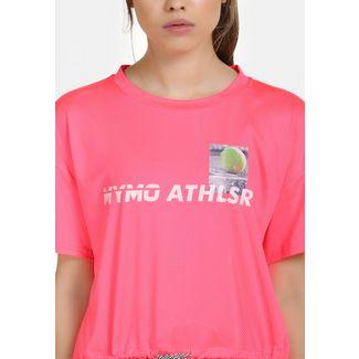 MYMO Printshirt Damen neon pink