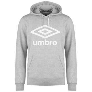 UMBRO FW Large Logo Hoodie Herren grau / weiß