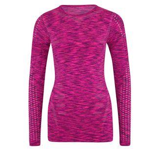 Endurance Langarmshirt Damen pink-lila