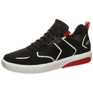 Skechers Ridge Rollie Sneaker Herren schwarz / rot