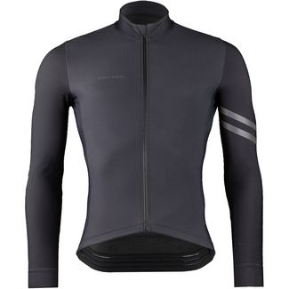 PERCY MASH Smart&Gentle Thermal Fahrradtrikot Herren black