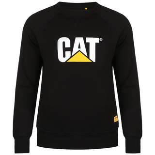 CATERPILLAR CAT Logo Roundneck Sweatshirt Herren schwarz