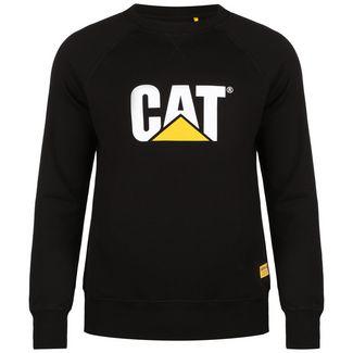 CATERPILLAR CAT Logo Roundneck Sweatshirt Herren schwarz