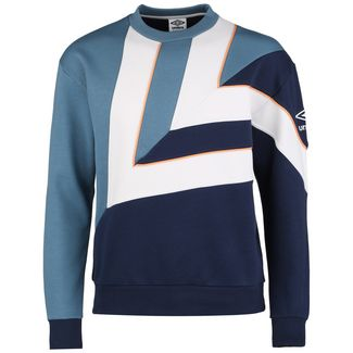 UMBRO Diamond Cut Funktionssweatshirt Herren blau / weiß
