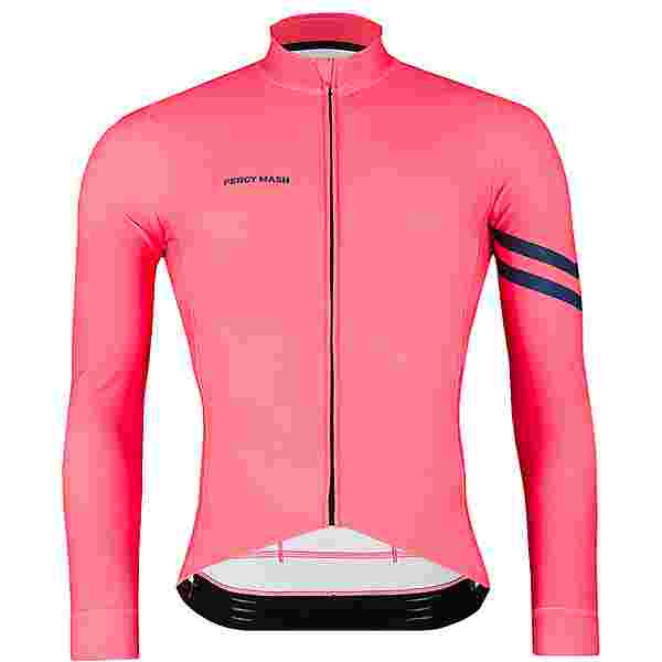 PERCY MASH Fast&Gentle line Thermal Long Sleeve Fahrradtrikot Herren miami ride