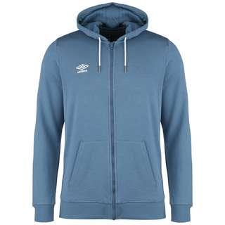 UMBRO FW Large Logo Zip Through Trainingsjacke Herren blau