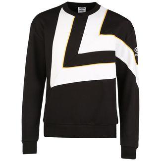 UMBRO Diamond Cut Funktionssweatshirt Herren schwarz / weiß