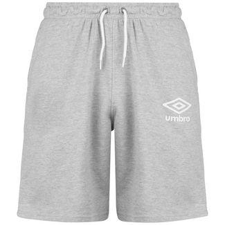 UMBRO Knee Length Fleece Fußballshorts Herren grau