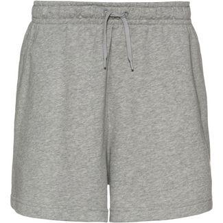 Nike Plus Size Shorts Damen dk grey heather-matte silver-white