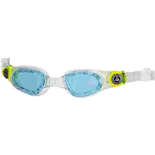 Aqua Sphere MOBY KID Schwimmbrille Kinder bright green l. blue