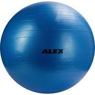 ALEX Gymnastikball blau