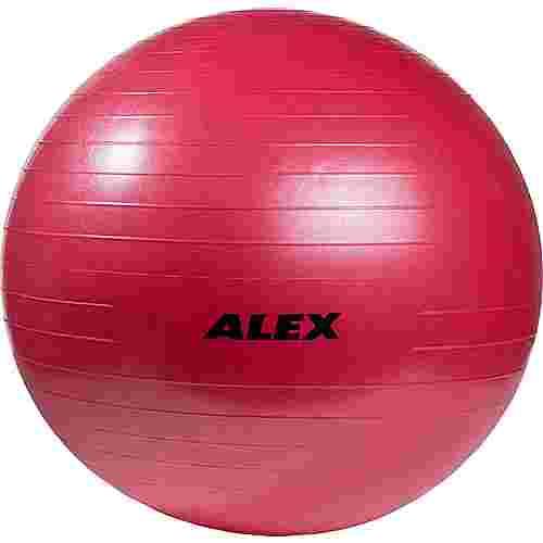 ALEX Gymnastikball rot