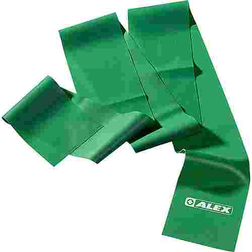 ALEX Gymnastikband grün