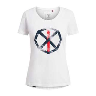 Shirts for Life Sara with Print T-Shirt Damen white